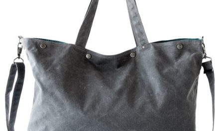 roomy waxed canvas bags by moop
