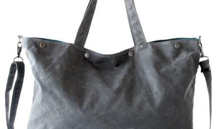 roomy waxed canvas bags by moop