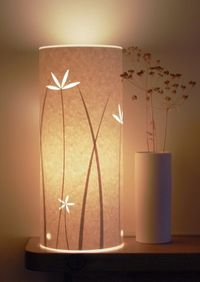 create a relaxed mood with lamplight