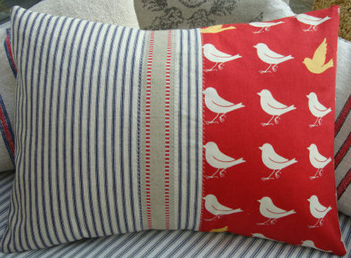 handmade vintage pillows that are new