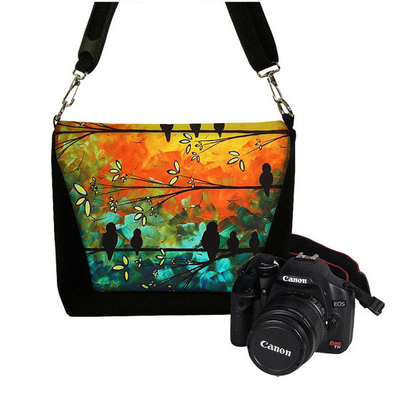 Colorful Jeannine King Camera Bag