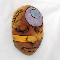intriguing masks and colorful hearts for your wall