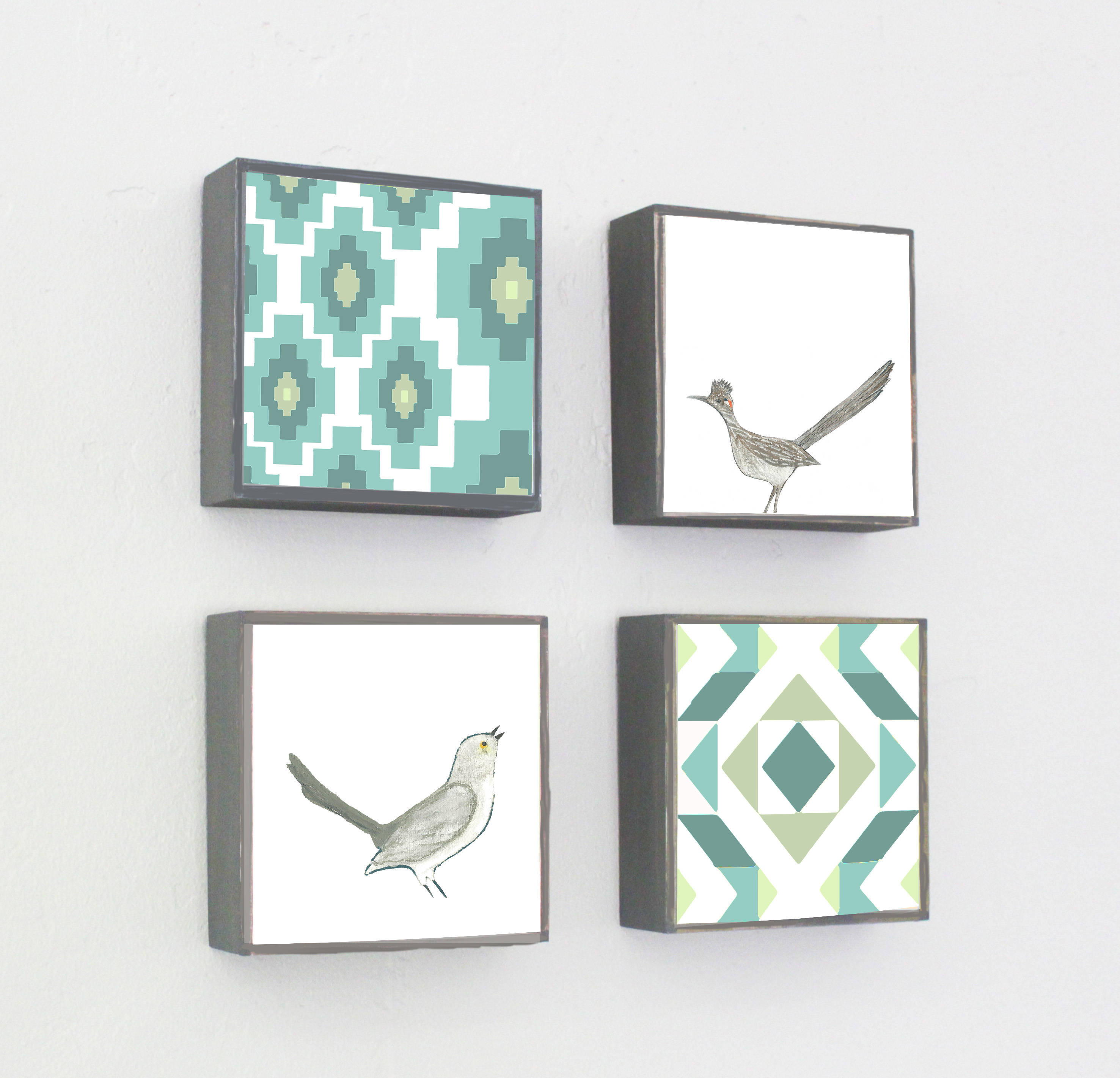 Wall Tile Grouping by Red Tile Studio