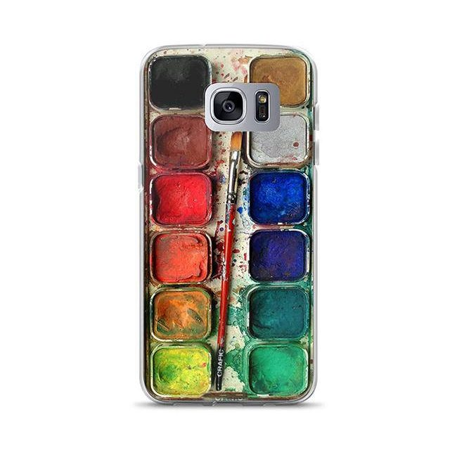 an artistic and painterly iphone case
