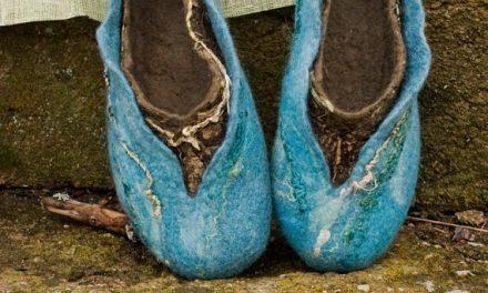BureBure Handmade Wool Felt Slippers