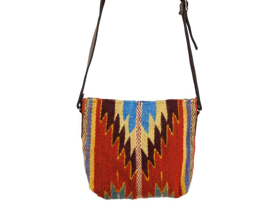 Fire Diamond Wool Cross Body Bag