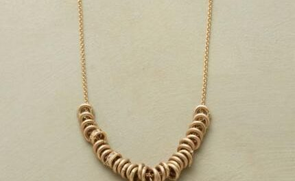new collection of handmade gold jewelry