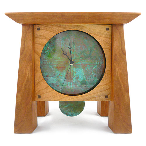 heirloom clocks from sustainable woods by desmond suarez