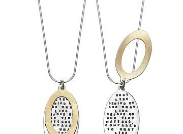 new collection of handmade silver jewelry