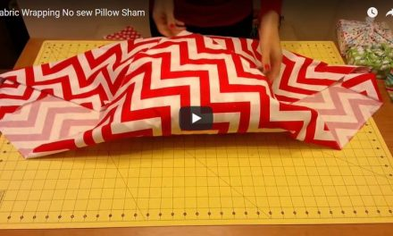 Five Video Tutorials for Easy DIY Pillows