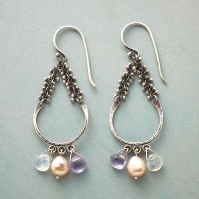 Three Pretty Pairs of Handmade Hoop Earrings