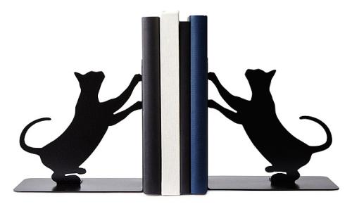 Cat Scratch Bookends