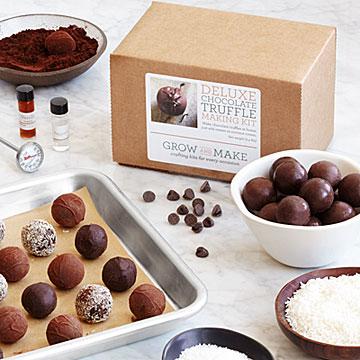 Do-It-Yourself Chocolate Truffles Kit