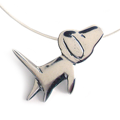 Dog Love Necklace by Mark Poulin