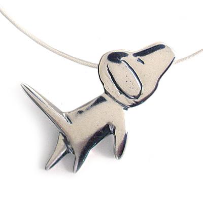 Dog Love Necklace by Mark Poulin