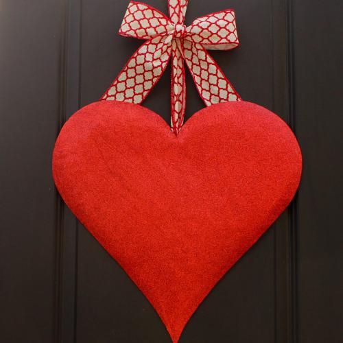 Indoor Valentine Wreath