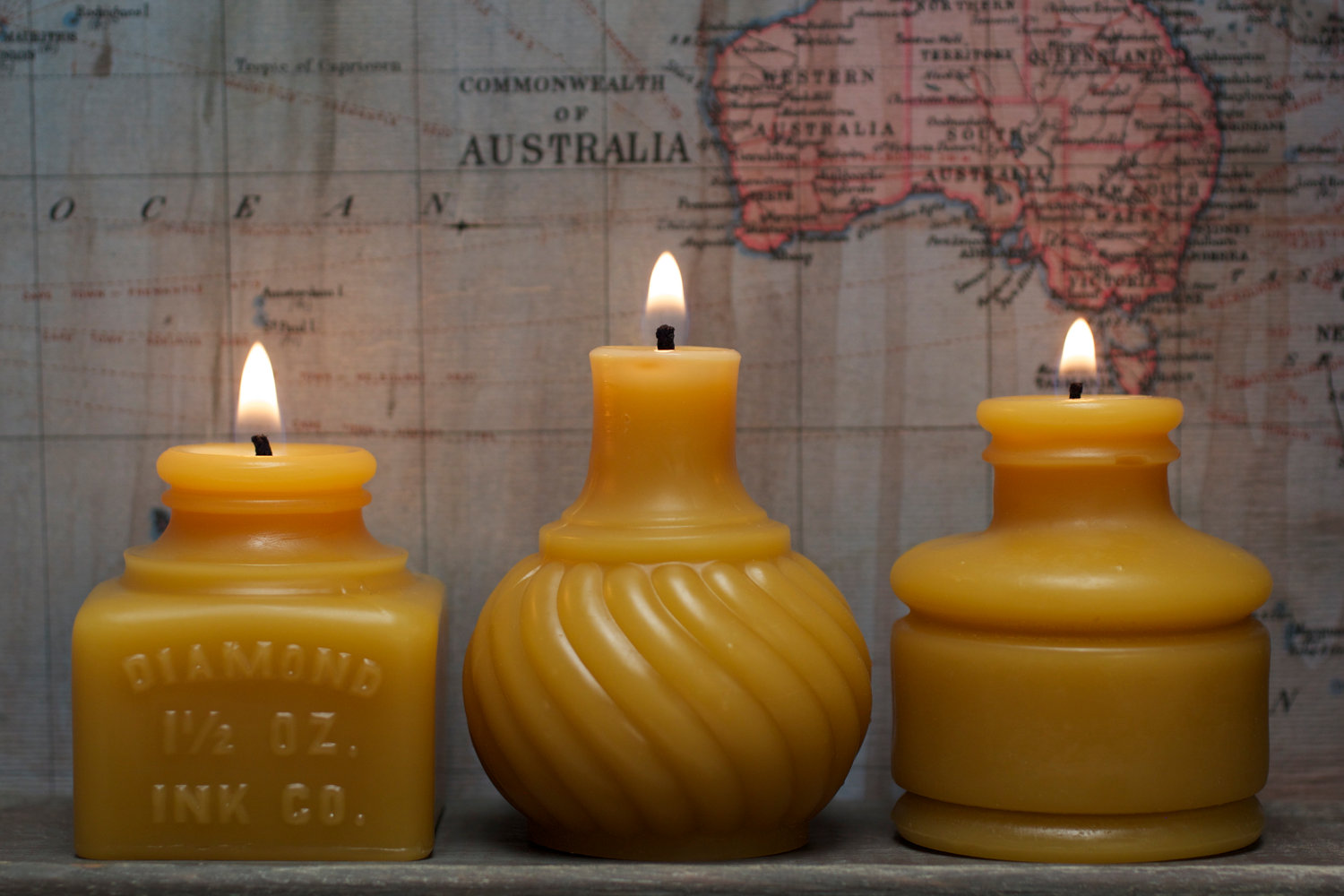 Inkwell Mold Candles
