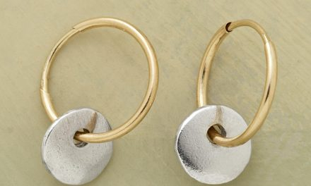 new collection of handmade hoop earrings