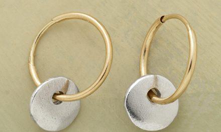 new collection of handmade hoop earrings