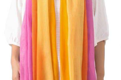 Big Beautiful Handmade Cotton Scarves