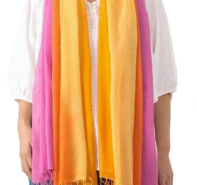 Big Beautiful Handmade Cotton Scarves