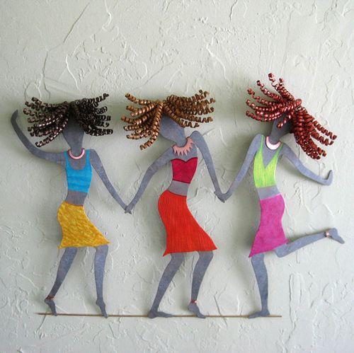Frivolous Tendencies:  Recycled Fun Art for Your Walls
