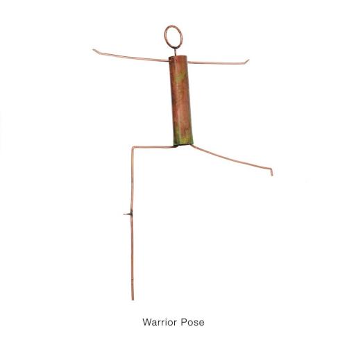 Warrior Pose Garden Sculpture