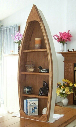 you can float your books in this boat