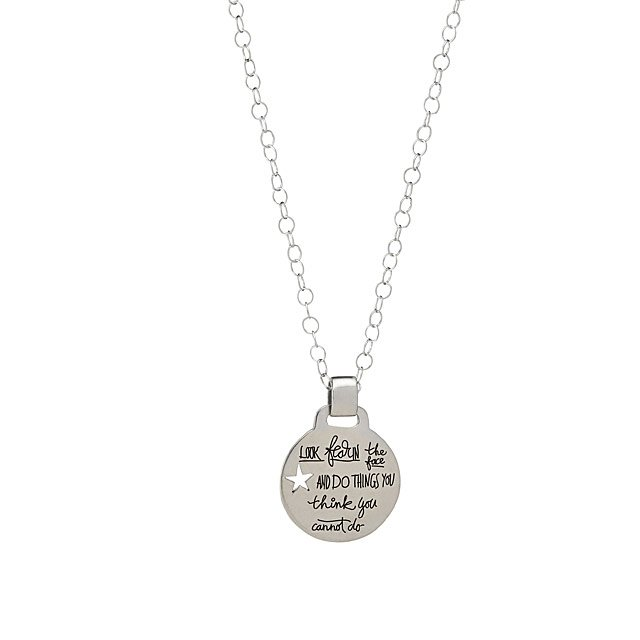 BB Becker Inspiration Necklace Fear Nothing