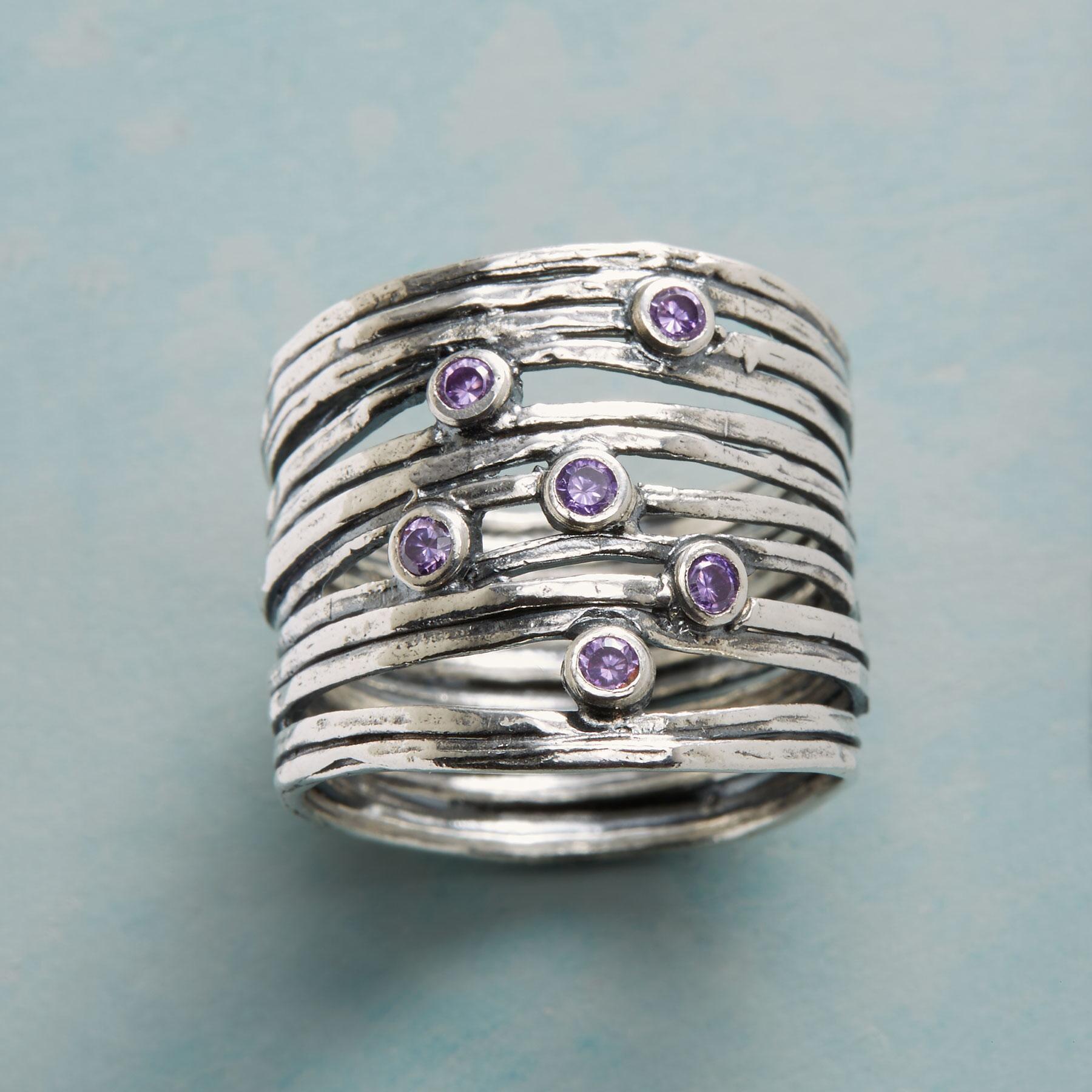 February Birthstone Rings